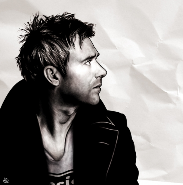 Damon Albarn by lokiangel87